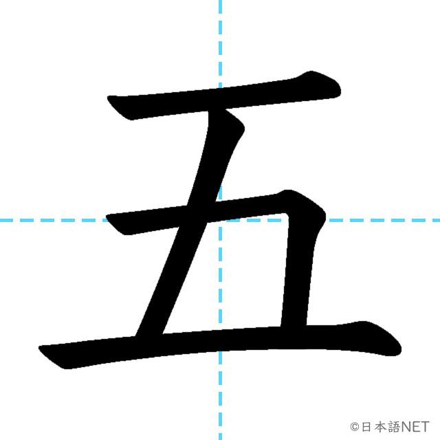 【JLPT N5 Kanji】五