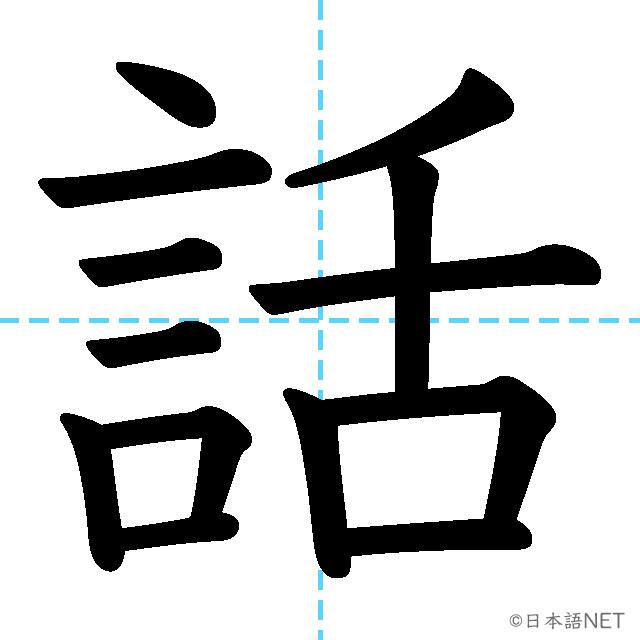 【JLPT N5 Kanji】話