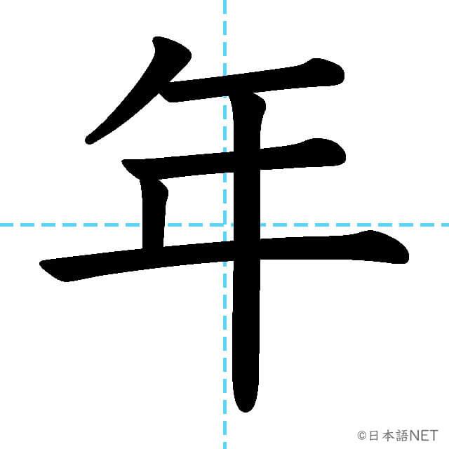 【JLPT N5 Kanji】年