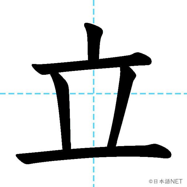 【JLPT N5 Kanji】立