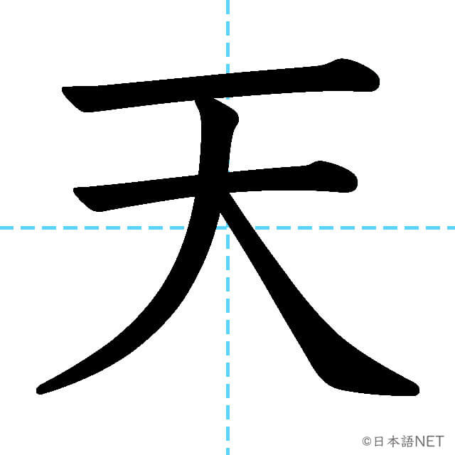 【JLPT N5 Kanji】天