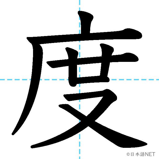 【JLPT N4 Kanji】度
