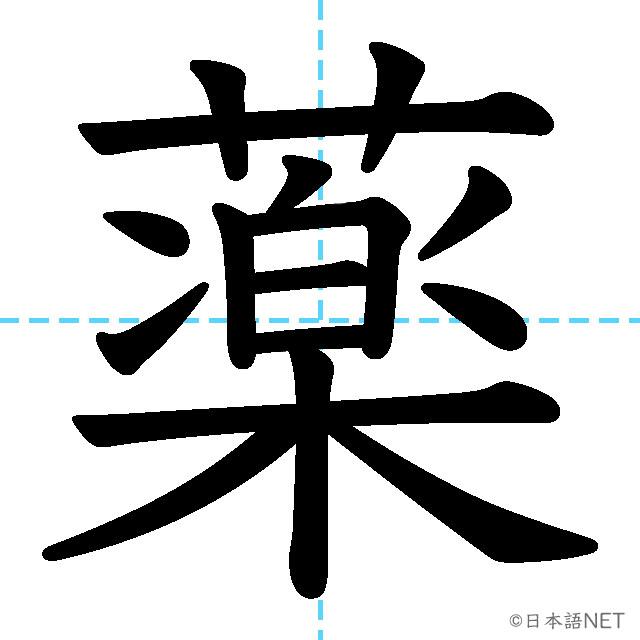 【JLPT N4 Kanji】薬