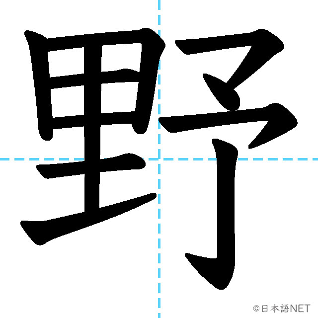 【JLPT N4 Kanji】野