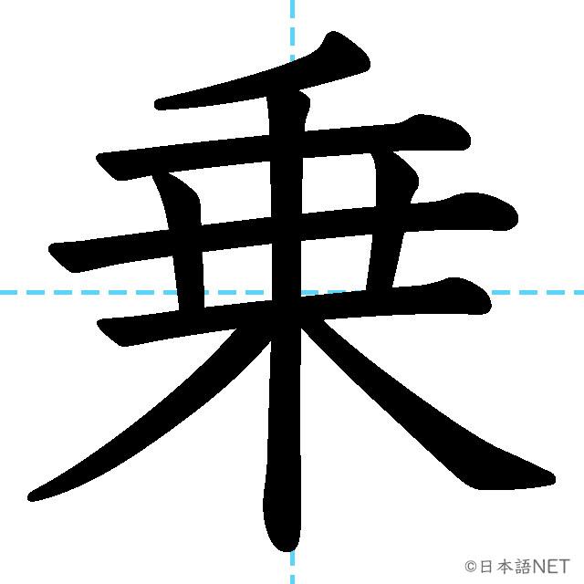 【JLPT N4 Kanji】乗