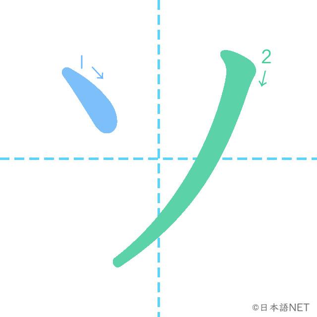 Katakana「ソ」