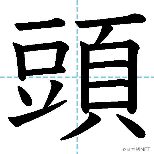 【JLPT N4 Kanji】頭
