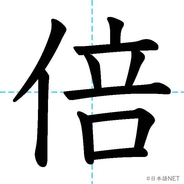 【JLPT N3 Kanji】倍