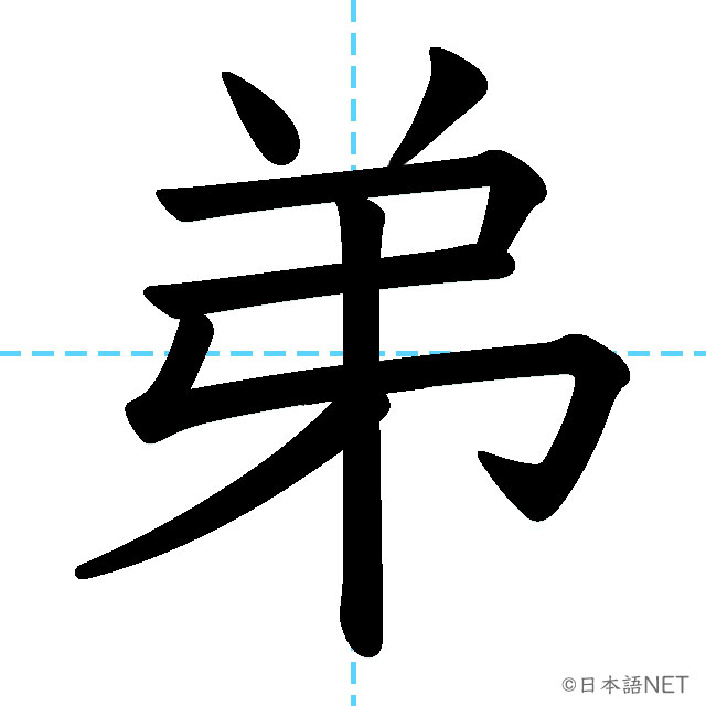 【JLPT N4 Kanji】弟