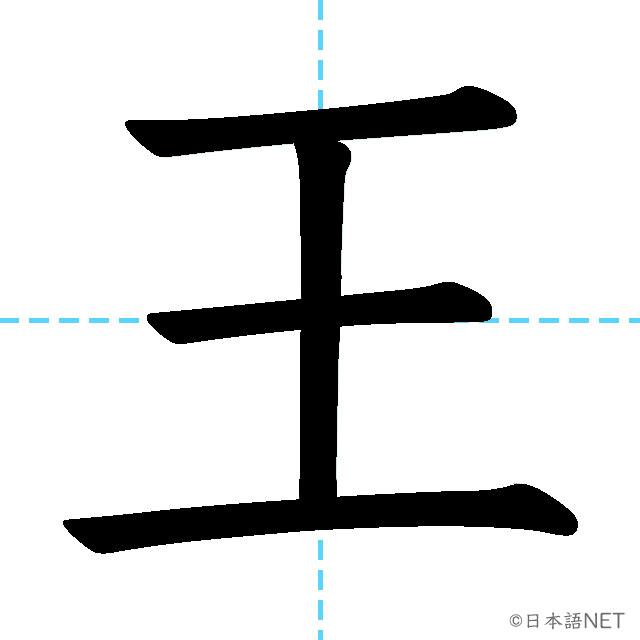 【JLPT N3 Kanji】王