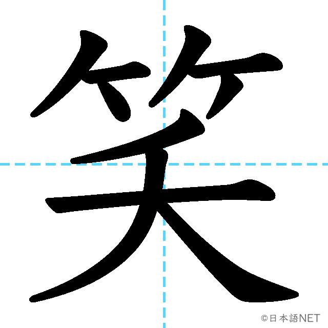 【JLPT N3 Kanji】笑