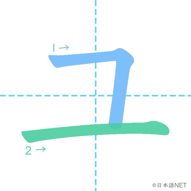 Katakana「ユ」