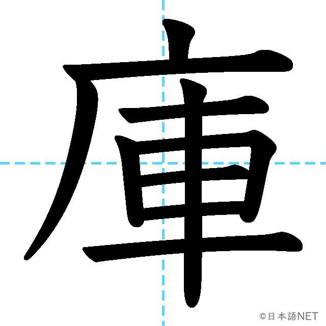 【JLPT N3 Kanji】庫