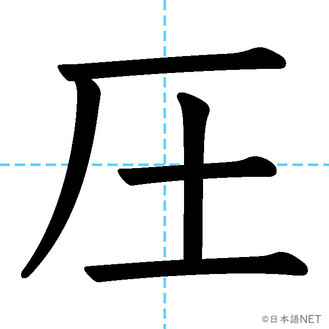 【JLPT N2 Kanji】圧