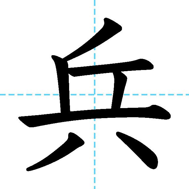 【JLPT N2 Kanji】兵