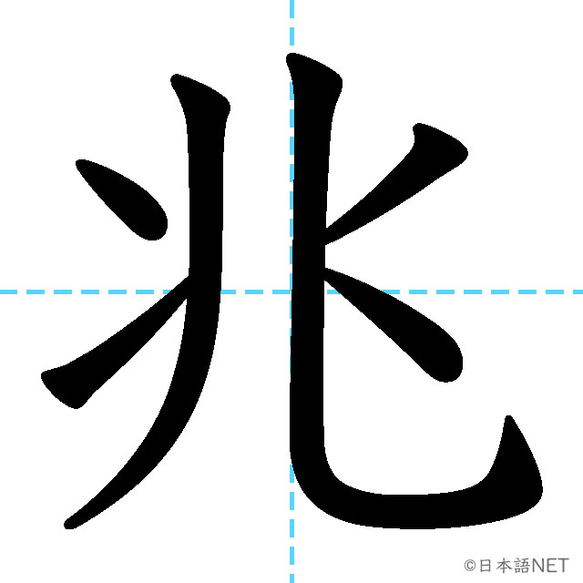 【JLPT N2 Kanji】兆