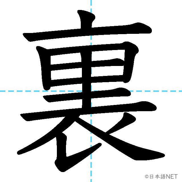 【JLPT N3 Kanji】裏