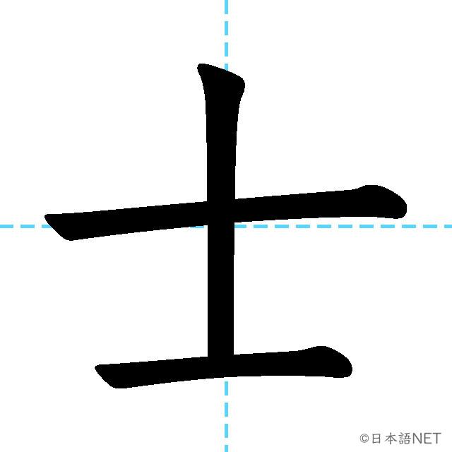 【JLPT N1 Kanji】士