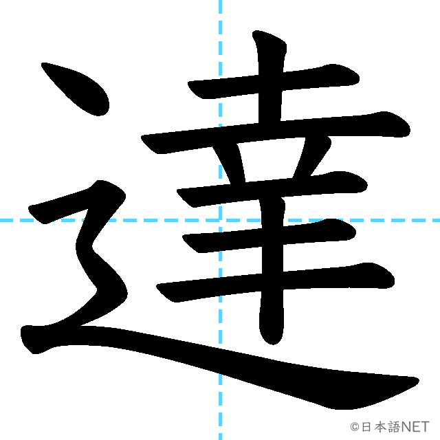 【JLPT N3 Kanji】達