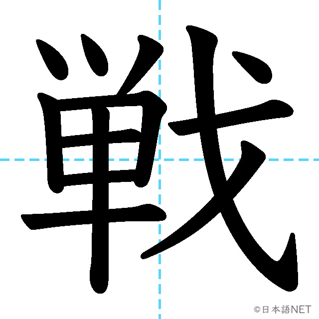 【JLPT N3 Kanji】戦