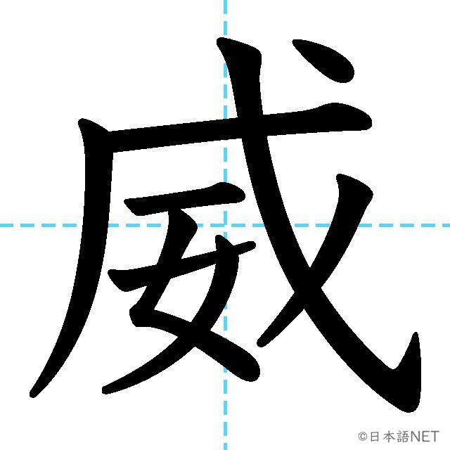 【JLPT N1 Kanji】威