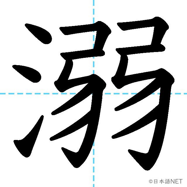 【JLPT N1 Kanji】溺