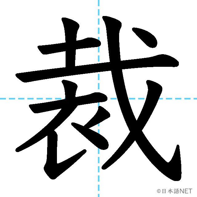 【JLPT N1 Kanji】裁