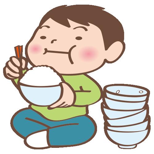 【Japanese Onomatopoeia】MORI-MORI / もりもり / モリモリ