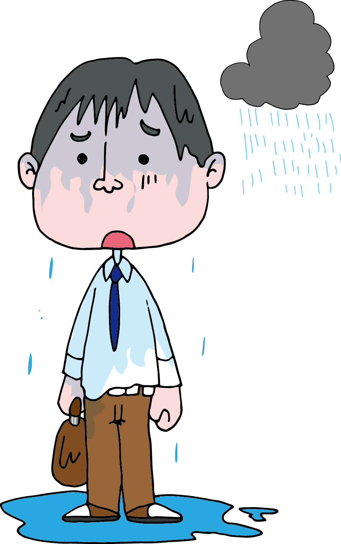 【Japanese Onomatopoeia】BISHO-BISHO / びしょびしょ / ビショビショ