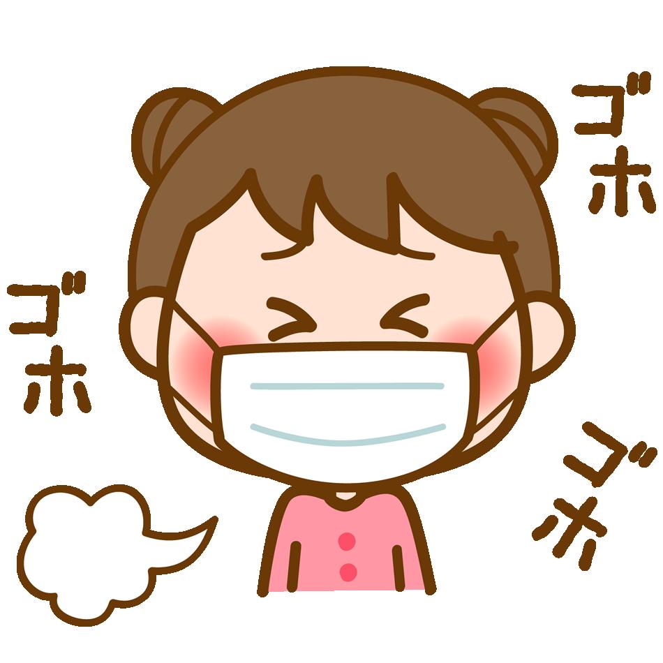 【Japanese Onomatopoeia】GOHO-GOHO / ごほごほ / ゴホゴホ